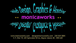 MonicaWorks Business Card