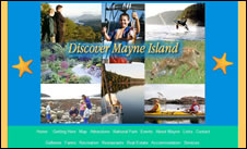 Mayne Island Chamber site 2001 to 2010