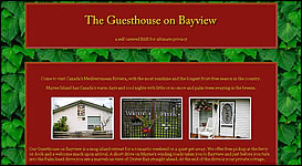 The Guesthouse on Bayview - Mayne Island, BC